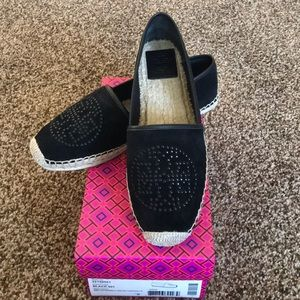 💯Authentic Tory Burch Kirby Espadrilles